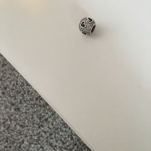 Authentic Pandora tumbling hearts charm